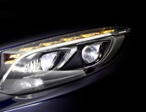 Mercedes-Benz няма да прави лазерни фарове